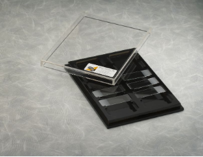 IBI Assay Staining Tray with Clear Lid 12 slides