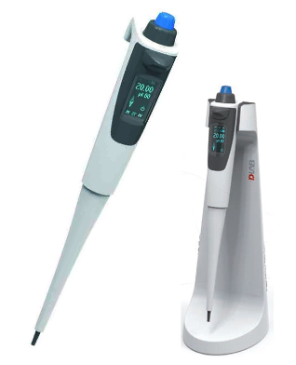 DLAB dPette Electronic Single Channel Pipettes