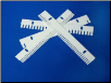 Gel Electrophoresis Comb Agarose 25 well MCP (multi channel)